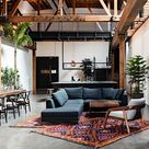 Loft Living Rooms