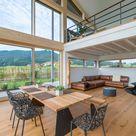 Modernes Landhaus Kaiser mit Holzfassade - Baufritz   HausbauDirekt.de