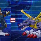 Digimon bahasa indonesia - evolusi  Garurumon menjadi Weregarurumon