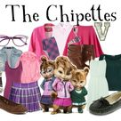 The Chipettes   Jeanette, Brittany, Eleanor Alvin and the Chipmunks