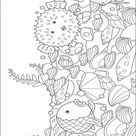 Rainbow Fish001 (12) Coloring Page for Kids - Free Rainbow Fish Printable Coloring Pages Online for Kids - ColoringPages101.com | Coloring Pages for Kids