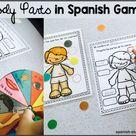 Body Parts in Spanish How to teach it   Spanish Studio
