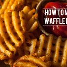 How To Make Waffle Fries At Home | KitchenSanity