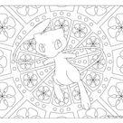 #151 Mew Pokemon Coloring Page · Windingpathsart.com