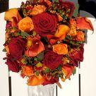 Red Sunflower Wedding