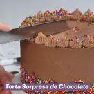 Torta Sorpresa de Chocolate