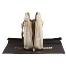 Lia- Small Cute Metallic Gold Shoulder and Cross Body Bag