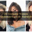 20 Awesome Women Asymmatrical Lob Hairstyle   VivieHome