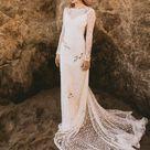 Florence Backless Lace Dress