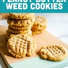 Four Ingredient Easy Cannabis Peanut Butter Cookies Recipe