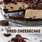 😋 No Bake Oreo Cheesecake