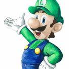 Luigi Acrylic Painting Print Art Super Mario Super Mario   Etsy