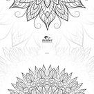 YOU COLOUR Adult coloring e-book 23 design flowers | Etsy