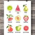Bible journaling art Fruit of the Spirit Galatians 5v22 fruit | Etsy
