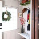 BAYVIEW BARNHOUSE | Mudroom Holiday Refresh - I SPY DIY