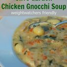 Lighter Olive Garden Chicken Gnocchi Soup | Simple Nourished Living