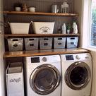 82 Bemerkenswerte Einrichtungsideen für Waschküchen für die perfekten Drop-Zones für zu Hause...