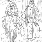 16-mary-and-joseph-on-the-road-to-bethlehem-coloring-page