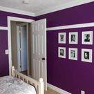 Dark Purple Walls