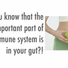 Why is gut health and WHAT YOU EAT SO IMPORTANT to your health and well-being? 85% of the immune system is located IN YOUR DIGESTIVE TRACK ... in the gut wall of the person ... therefore the human digestive system is a huge ... and THE MOST IMPORTANT and the BIGGEST IMMUNE ORGAN in the human body. And gut health is directly connected to autoimmune diseases and those who struggle with allergies ~ Dr Natasha Campbell-McBride