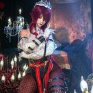 Genshin Impact Rosaria Cosplay Costume CC0221 - S