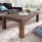 Couchtisch Indra Akazie Braun 120x70 cm Massivholz