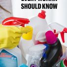 CLEANING HACKS EVERY WOMAN SHOULD KNOW