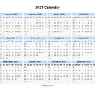 2021 Week Dates Excel - Calendar Inspiration Design