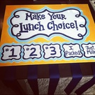 Lunch Choice Boards