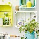 Selbermachen mit Farben - Gartenmöbel und Accessoires mit Farben verschönern