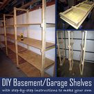 Garage Storage Shelves
