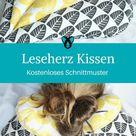 Leseherz Kissen