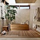 10 banheiras japonesas tradicionais do Pinterest para se inspirar!