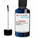 Toyota Verso Pacific/Dark Blue Code 8S6 Touch Up Paint - Touch Up Paint 25ml Bottle
