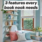 3 features every book nook needs