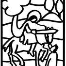 Sankt Martin (St. Martin), Heiliger Martin von Tours/Laternen/Vorlage   Kindergarten   Martin st, Sint maarten, Lanterns