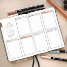 21 Bullet Journal Weekly Planner Ideas - Beautiful Dawn Designs