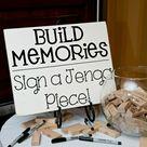 Hochzeitsgästebuch - 20 Ideen für kreative Hochzeitserinnerungen