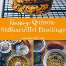 Quinoa-Süßkartoffel-Bratlinge - Klara`s Life