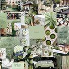 matcha green aesthetic laptop wallpaper