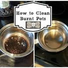 Cleaning Burnt Pots