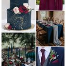 5 Stunning Jewel-toned Wedding Color Ideas for 2020