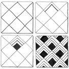 Easy Zentangle Patterns