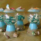 Beach Party Centerpieces