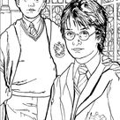 Coloriage Harry Potter GRATUIT 1/4