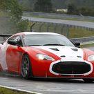 Aston Martin V12 Zagato Race Car 2011 voiture de course d'endurance