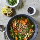 Schnell und gesund Würzige Miso Suppe