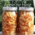 Recipes We Love: Apple Pie Filling -- water bath canning