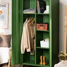 2-Door Metal Locker Cabinet Pohpli