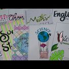 Front Page Design For School Projects | CRAFTSWOMAN